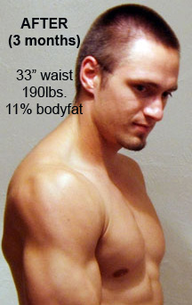 personal trainer in toronto, in home personal training toronto, eric astrauskas, body transformation, after picture