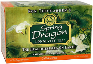 spring dragon longevity tea, dragon herbs, ron teeguarden, herbal tea, best tea, healthy tea, organic tea